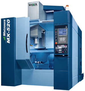 A single 5-Axis Machining, 5-Axis Mill.